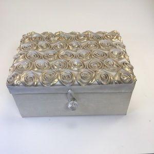 Storage & Organization - Decorated Fabric Jewelry Box!